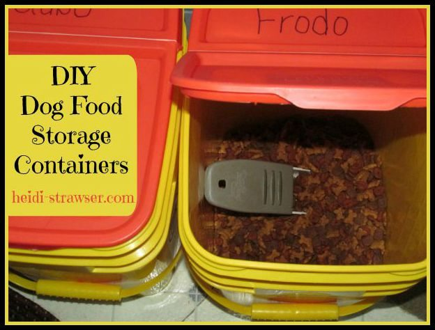 Diy Dog Food Storage Containers Mousekejournals